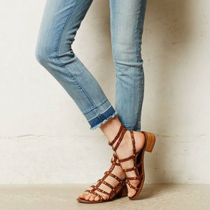 Pilcro and the Letterpress Jeans - Anthropologie Jeans Pilcro Stet Cropped Denim, 28